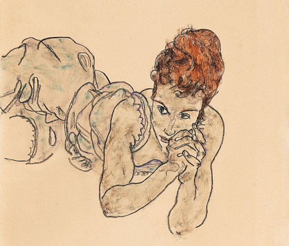 2,3 milioni € per la fanciulla di Schiele da Dorotheum a Vienna