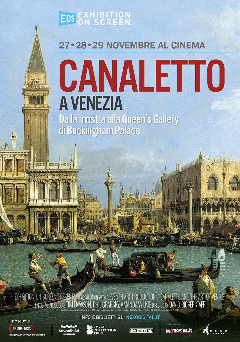 Locandina Canaletto a Venezia