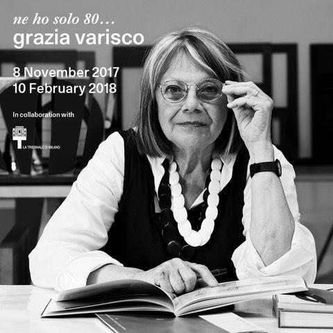 "Grazia Varisco, ""ne ho solo 80..."", Milano"
