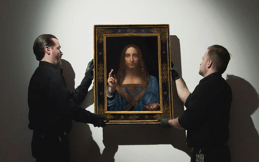 Il Salvator Mundi di Leonardo venduto a 450 milioni di dollari da Christie's