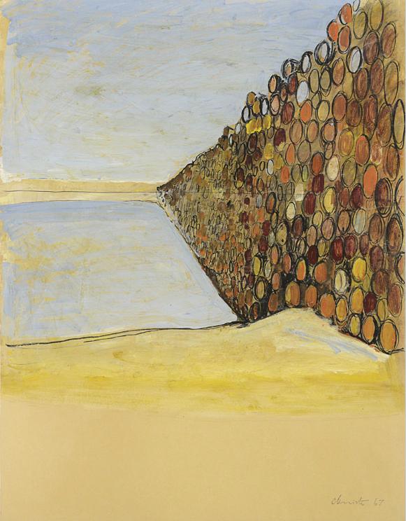 Un progetto di Christo da Meeting Art parte da 80 mila €