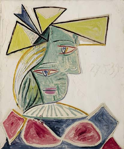 Pablo Picasso BUSTE DE FEMME AU CHAPEAU