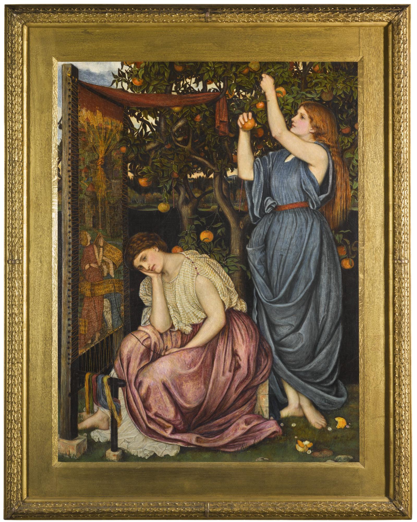 L'attesa di Penelope nel dipinto di Stanhope in asta a Londra