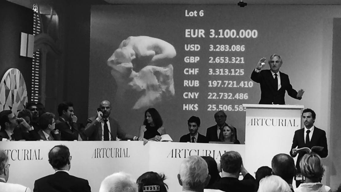 Andromède, Rodin, adjugé 3,7 M€ le 30 Mai 2017 par Artcurial - 4 - © Artcurial