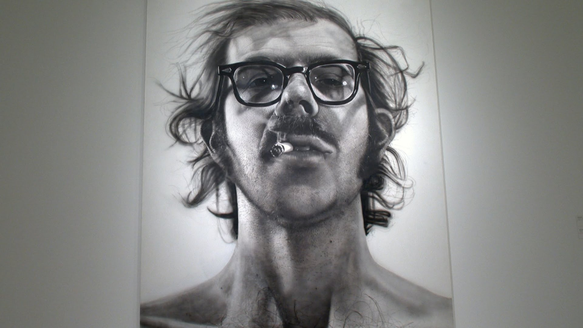 Chuck Close, Selfportrait