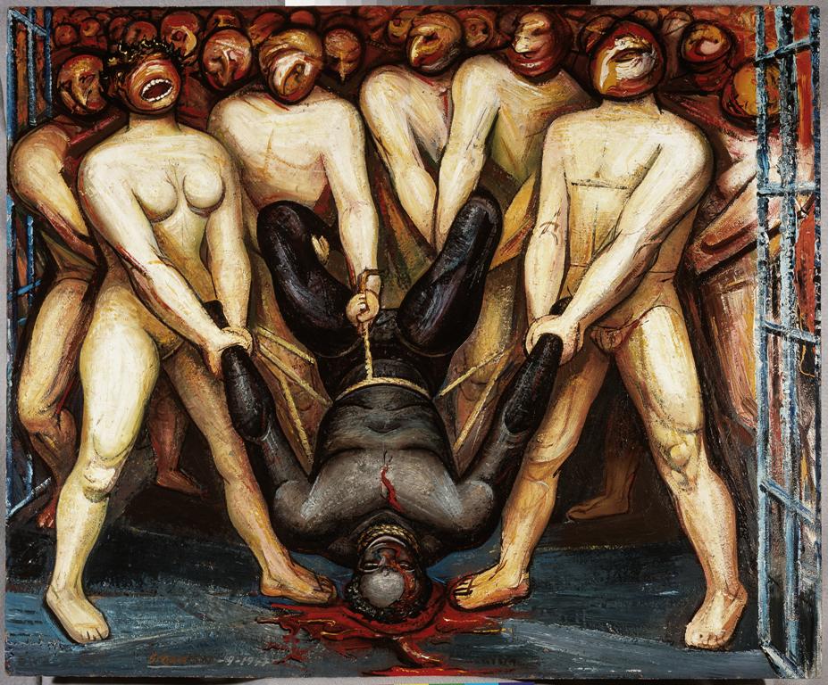 David Alfaro Siqueiros - Caín en los estados unidos. 1947 Museo de Arte Carrillo Gil