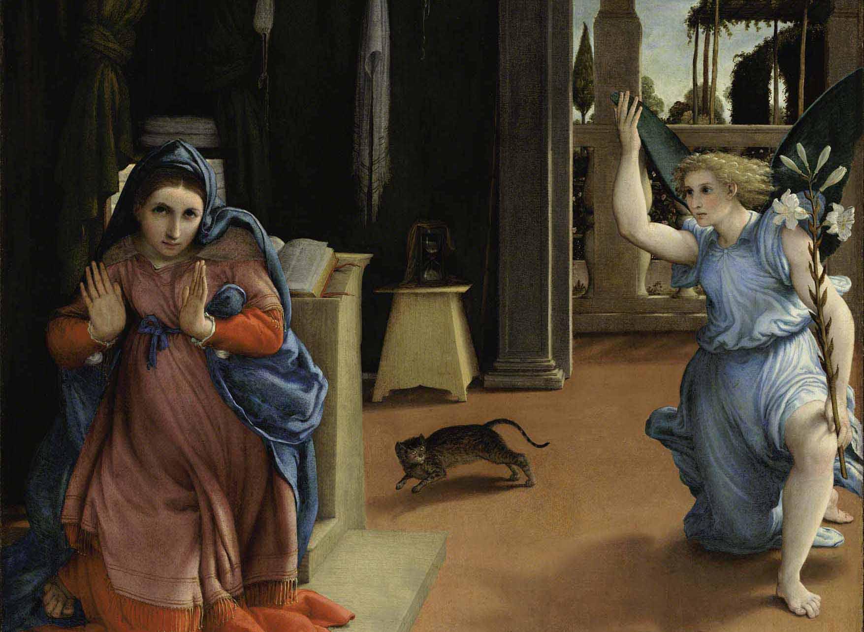 Lorenzo Lotto in dialogo con Giacomo Leopardi, a Recanati