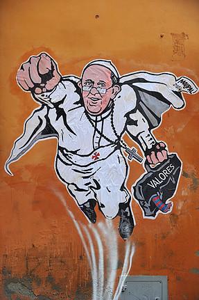 SuperPope Courtesy www.mauropallotta.com
