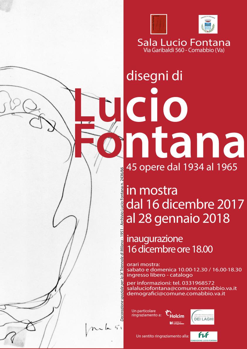 Lucio Fontana, disegni 1934/1965. In mostra a Comabbio