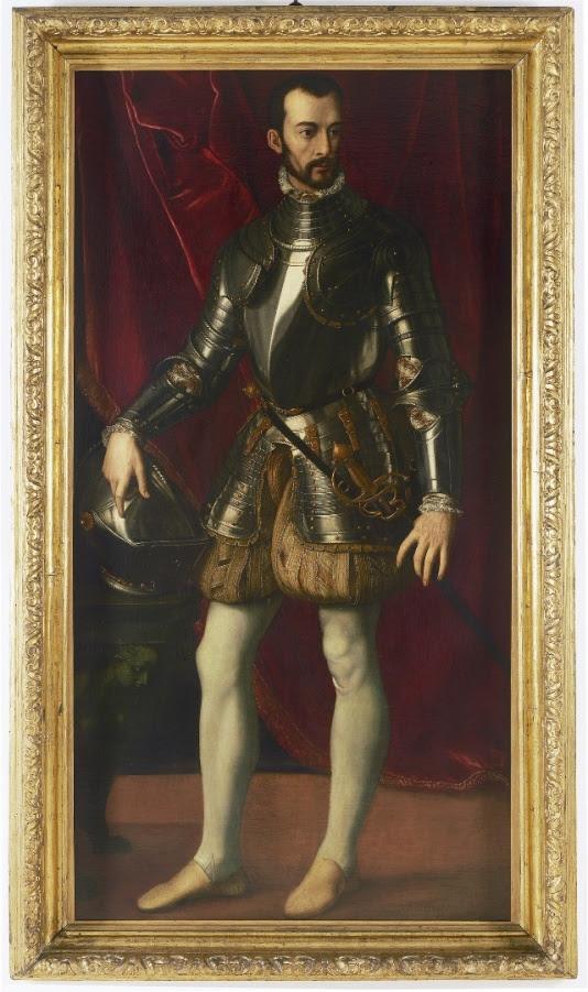 Alessandro Allori, Ritratto di Francesco I, 1570-1575, Anversa, © Museum Mayer van den Bergh
