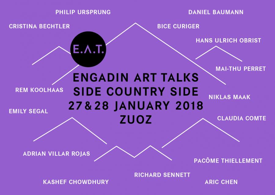 A Zouz torna il forum Engadin Art Talks giunto alla 7^ edizione