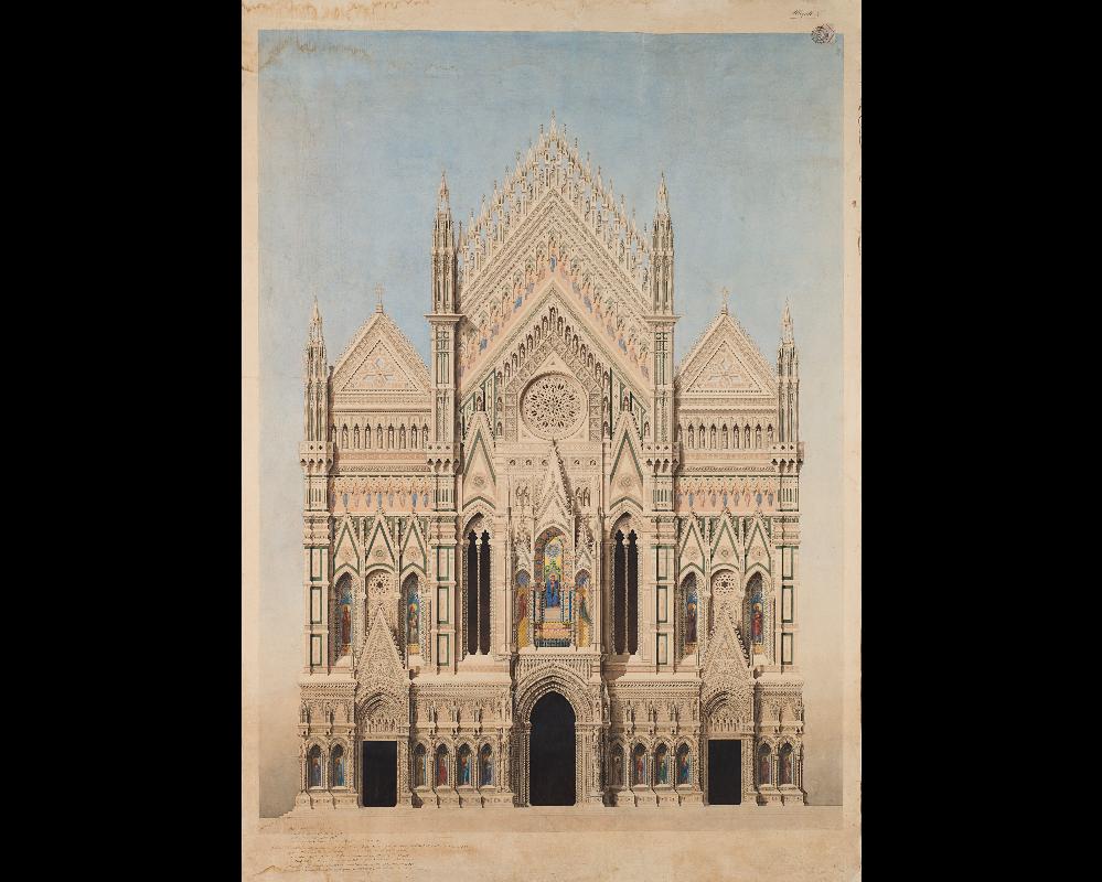 Bozzetto per Santa Maria del Fiore acquisito in asta per il Museo dell'Opera del Duomo di Firenze