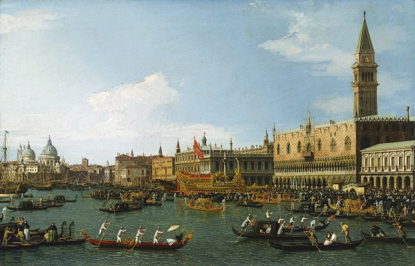 Canaletto The Bucintoro