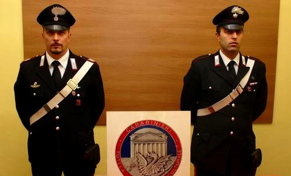 Carabinieri del Comando Tutela Patrimonio Culturale