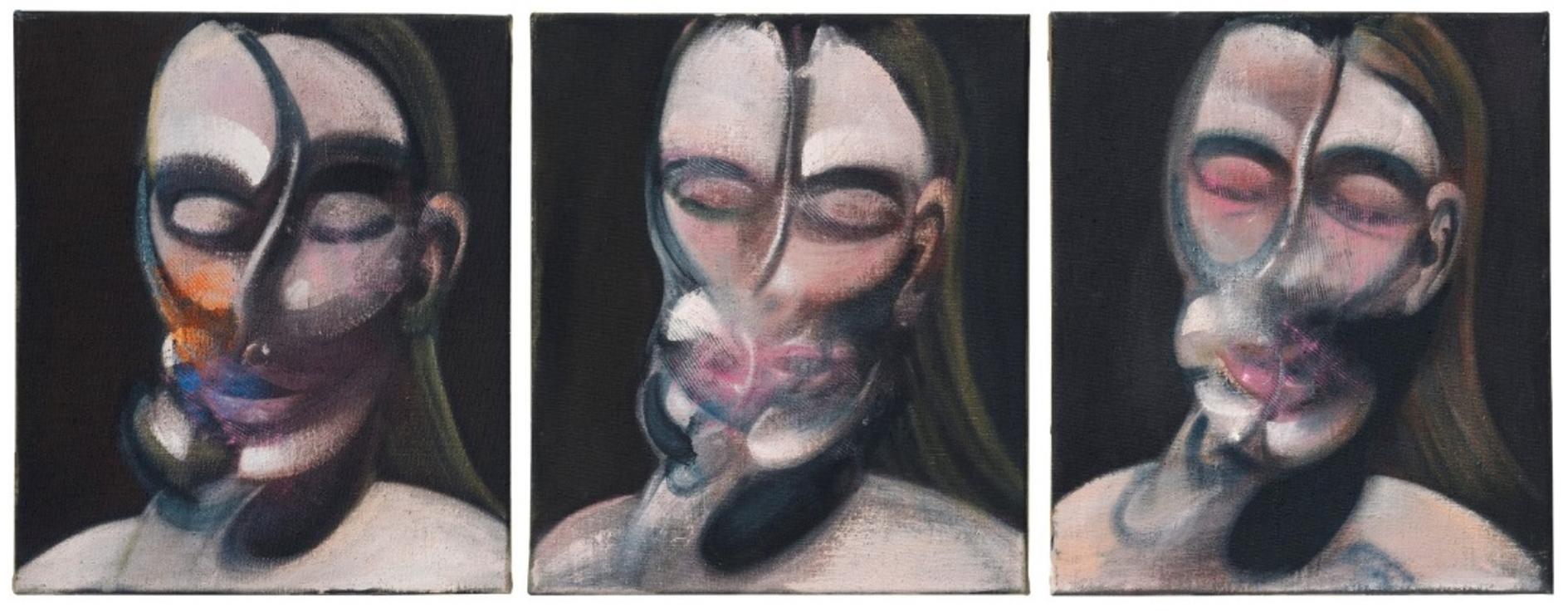 Francis Bacon, Three Studies for a Portrait, Oil on canvas, 1976, Estimate: £10,000,000-15,000,000