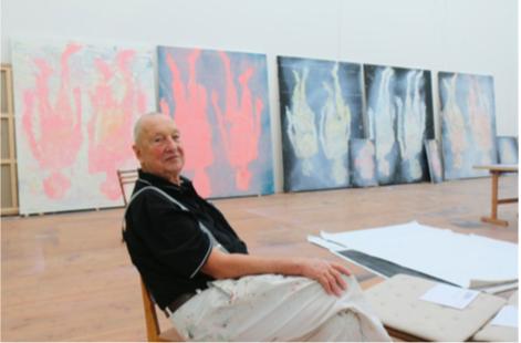 Baselitz, Corpus, exhibition