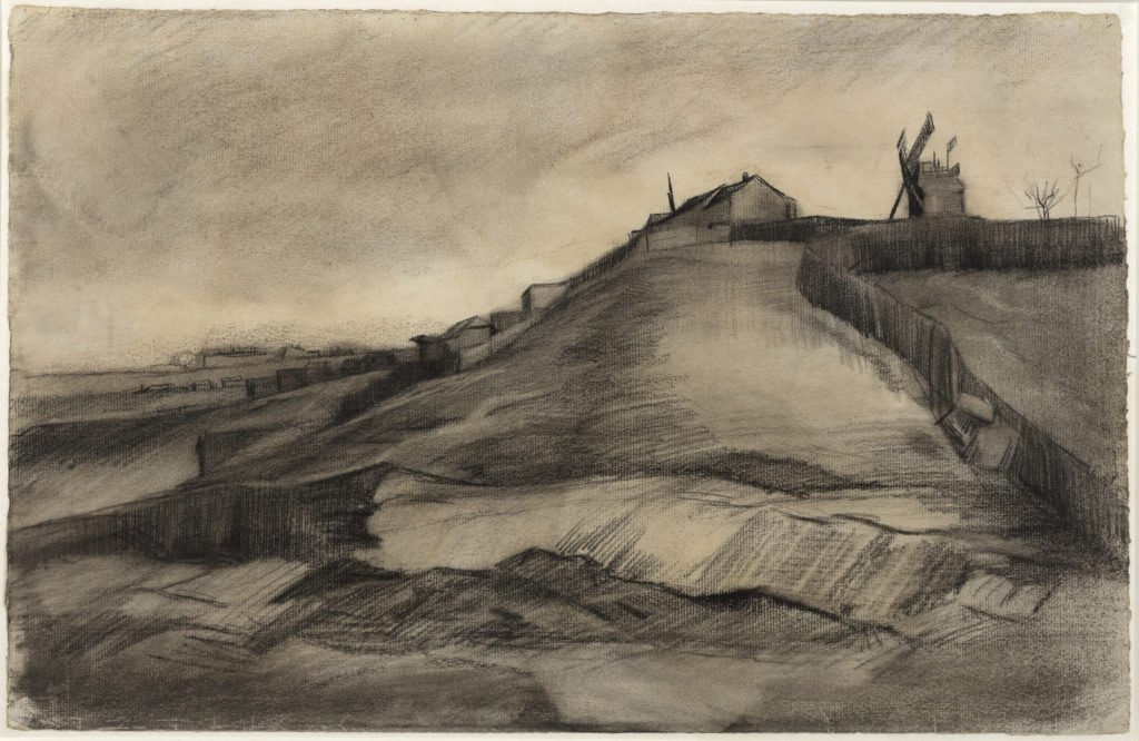 Il disegno attribuito ora a van Gogh (courtesy Van Vlissingen Art Foundation)