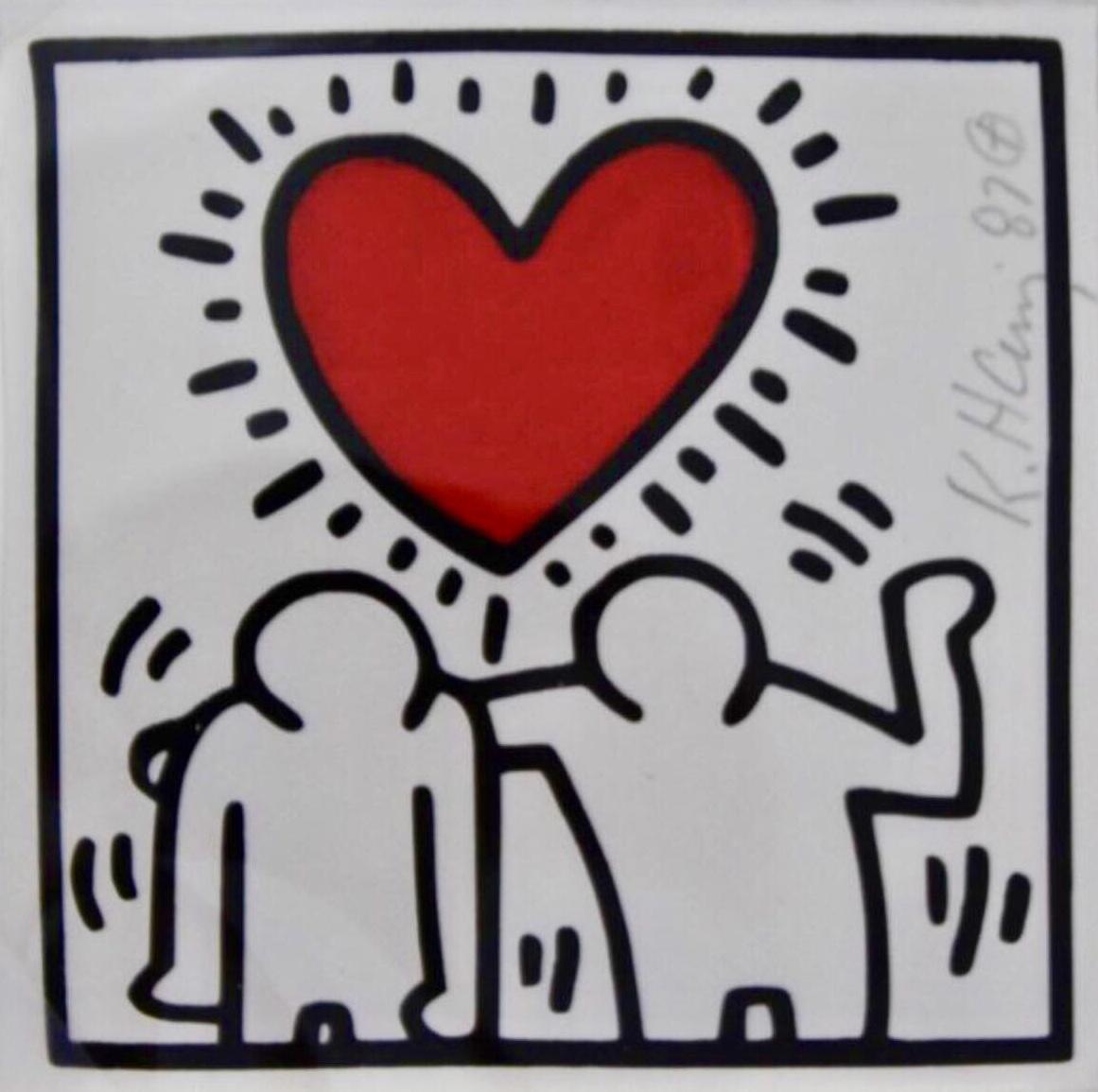 Keith Haring , Heart