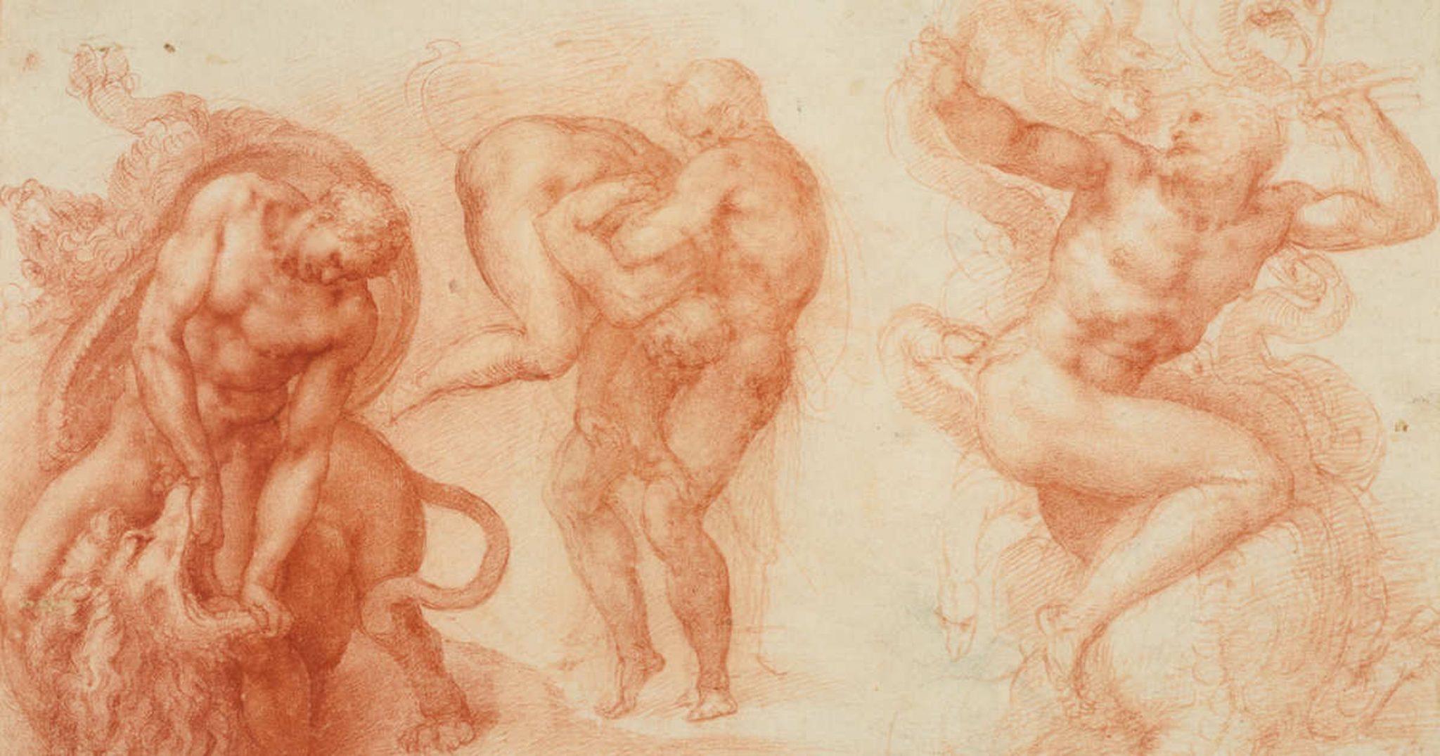 Michelangelo Divine Draftsman and Designer, Metropolitan Museum, New York