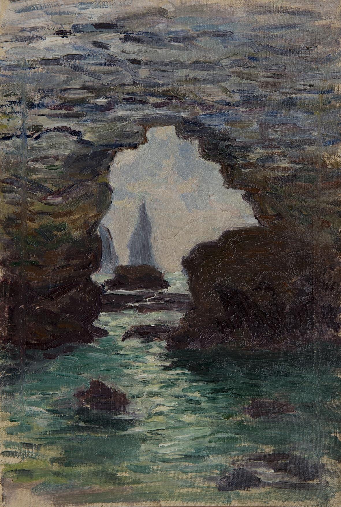 Mare della Normandia . Monet