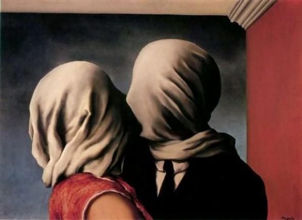 Magritte, Gli Amanti, 1928