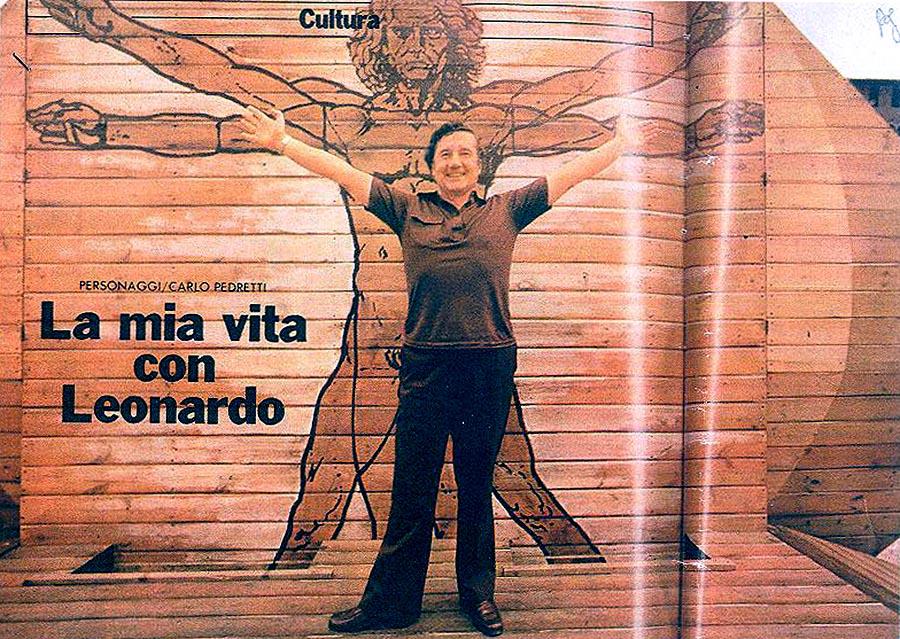 Ci ha lasciato Carlo Pedretti massimo esperto di Leonardo da Vinci