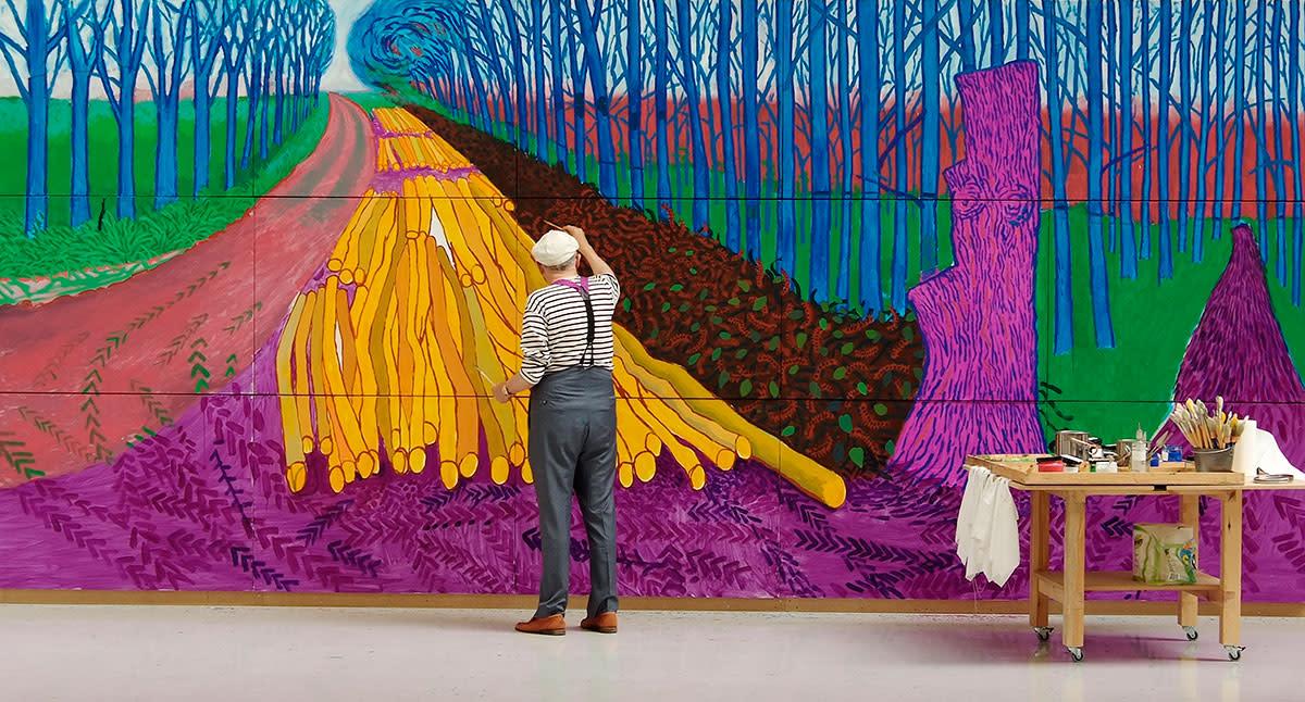 David Hockney: al cinema il docufilm sull'artista simbolo della pop art inglese