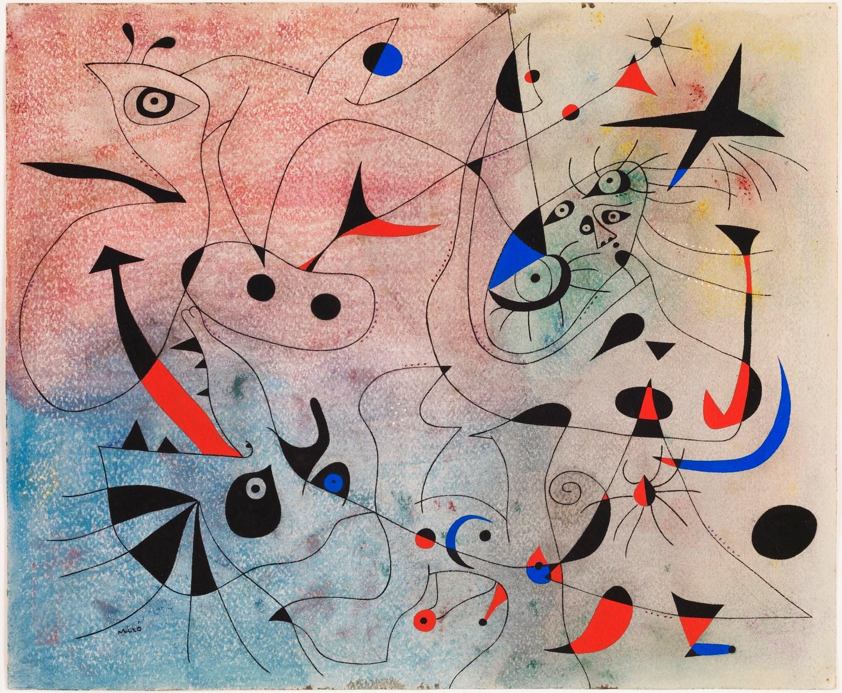 Joan Mirò, La stella del Mattino