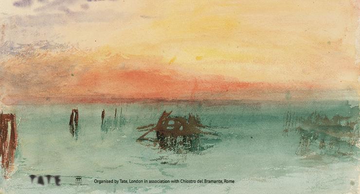 grandi mostre a Roma nella Primavera : Canaletto, Turner e Hiroshige : Turner - Opera dalla Tate