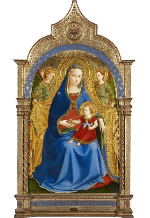 La madonna della Melograna di Beato Angelico acquisita dal Museo del Prado per 18 milioni di euro
