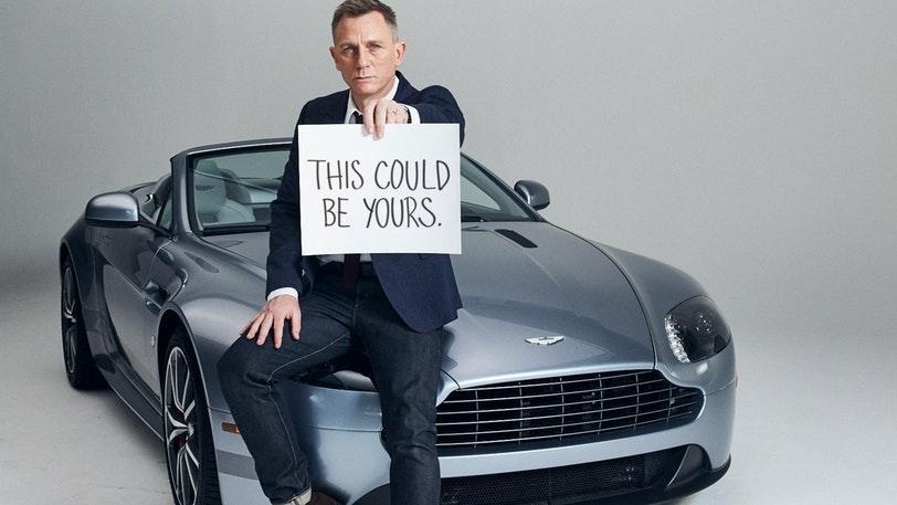 Christie's annuncia che l'Aston Martin personale di Daniel Craig