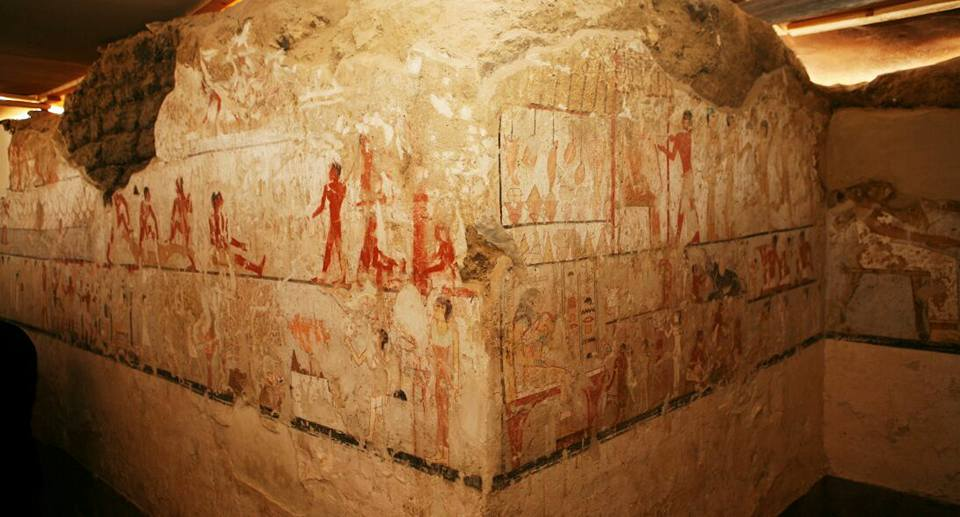 Egitto: scoperta la tomba della sacerdotessa Hetpet. Affreschi in buono stato