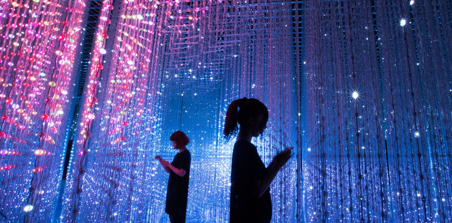 teamLab - Digital Art- Artscience- museum - singapore