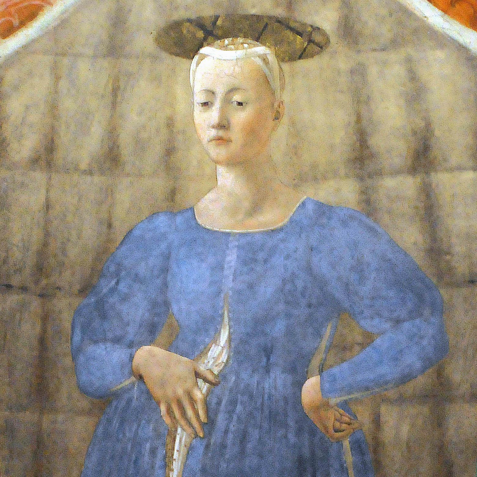 Piero della Francesca a Monterchi: torna visibile la Madonna del Parto