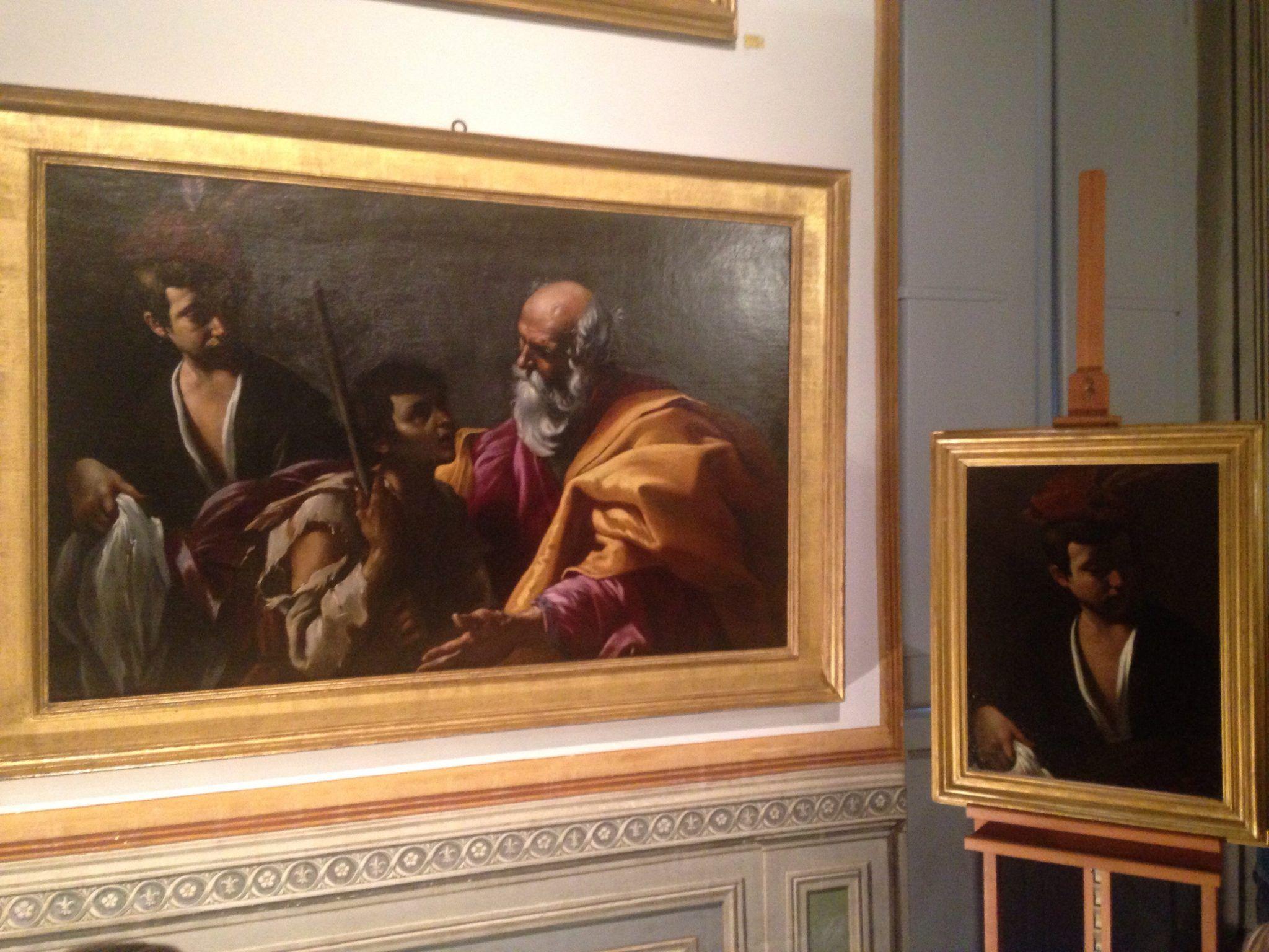 Ritrovare Lanfranco: due opere a confronto. A Roma, Galleria Spada
