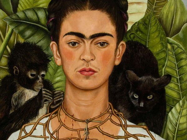Frida Kahlo, Autoritratto con collana di spine, MUDEC, Milano