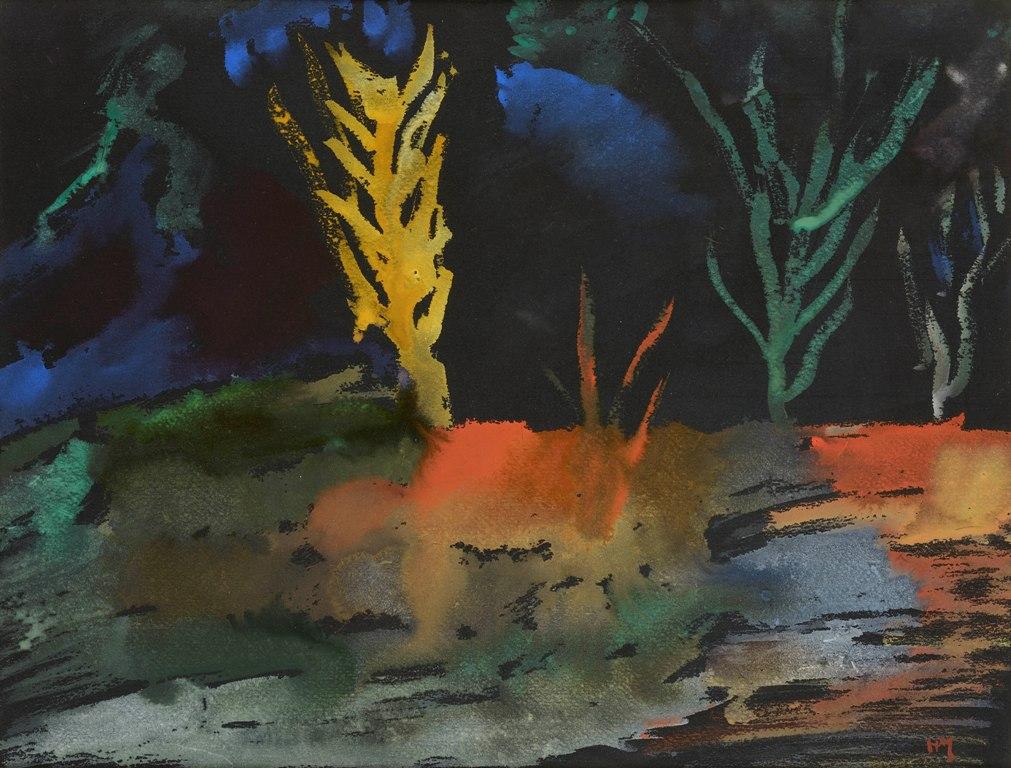 Henry Michaux, poesie a colori a Bilbao