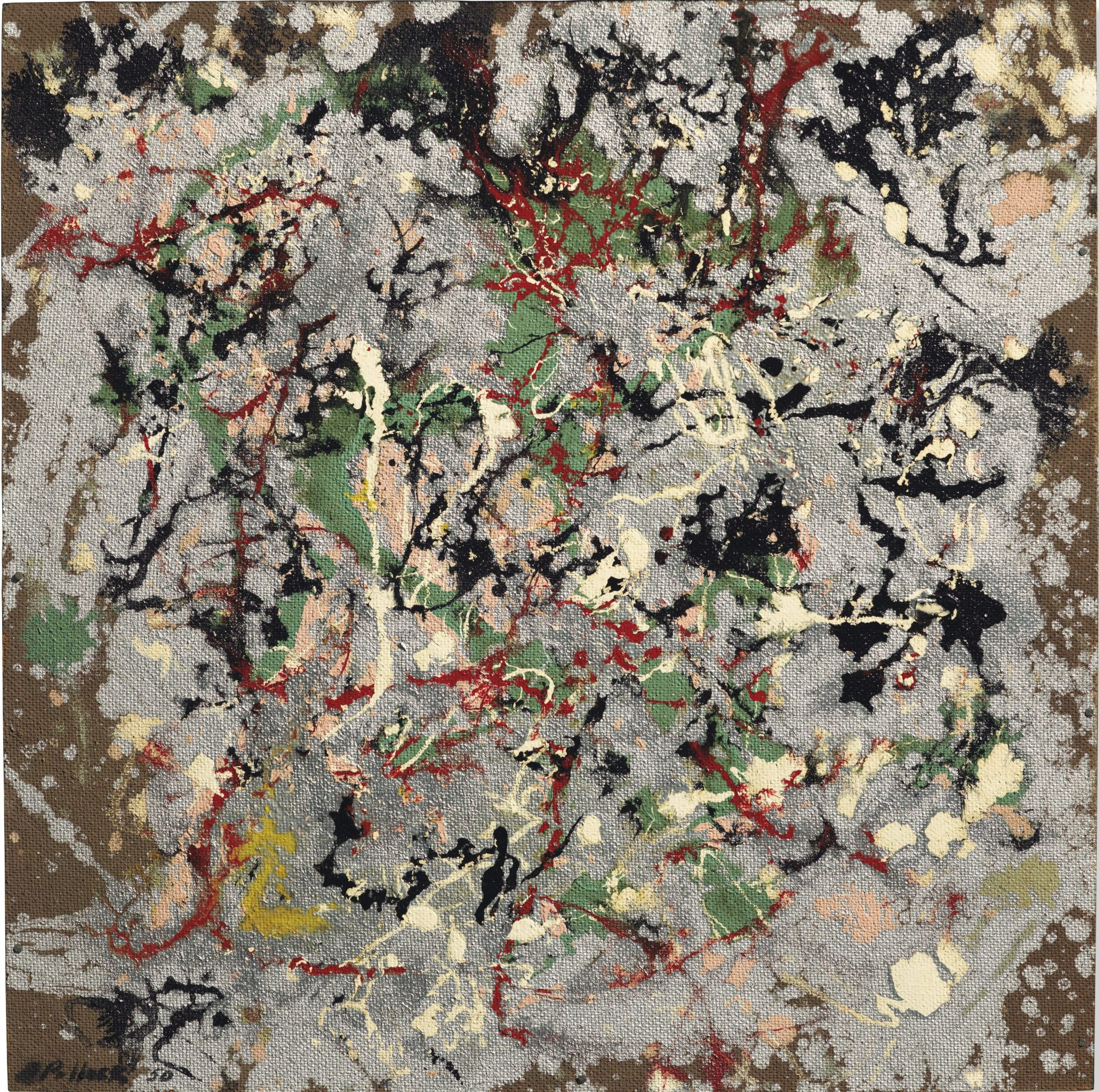 Jackson Pollock, Number 21, (1950), stima: £10,000,000-15,000,000
