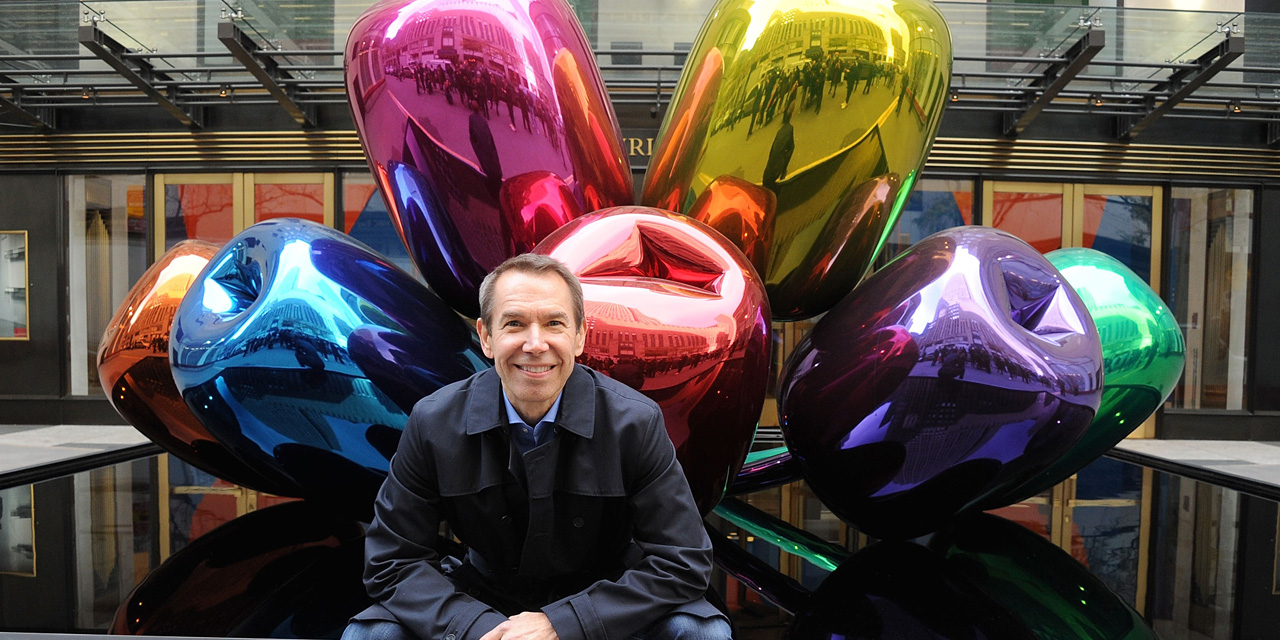 Jeff Koons, Bouquet of Tulips