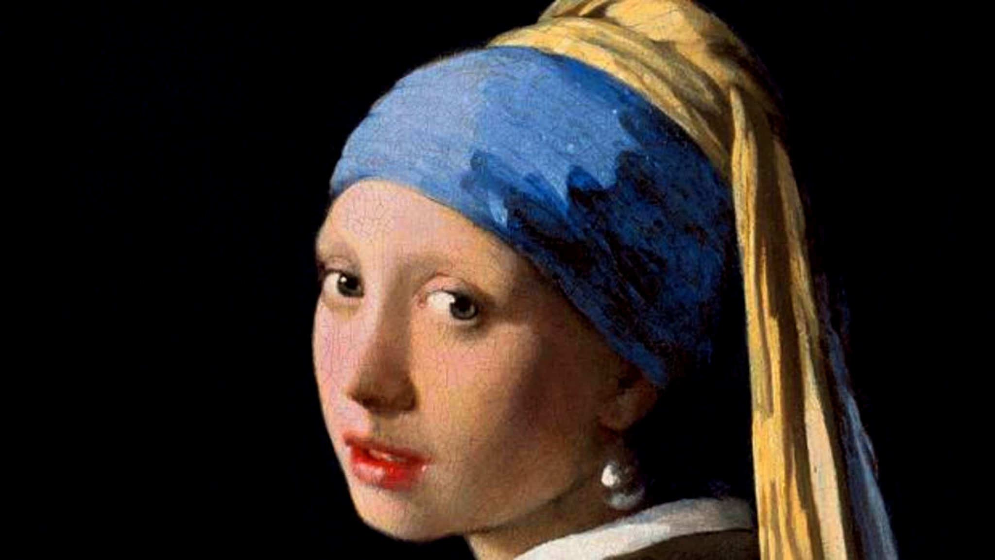 La Ragazza con l'orecchino di perla, di Johannes Vermeer, 1665 (particolare)