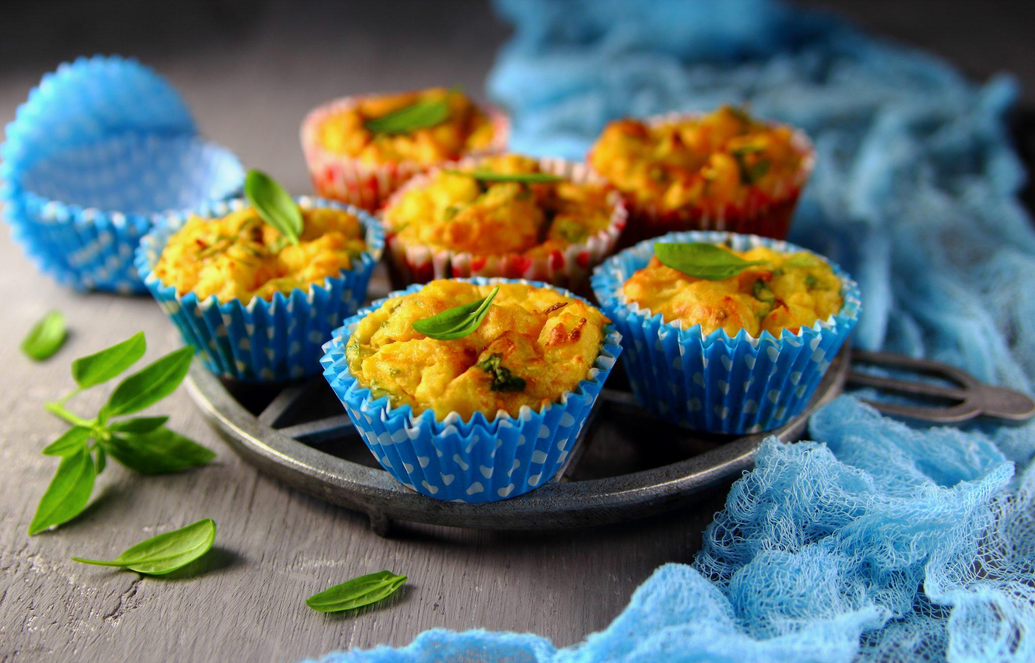 Una ricetta per l'inverno: muffin salato di carote