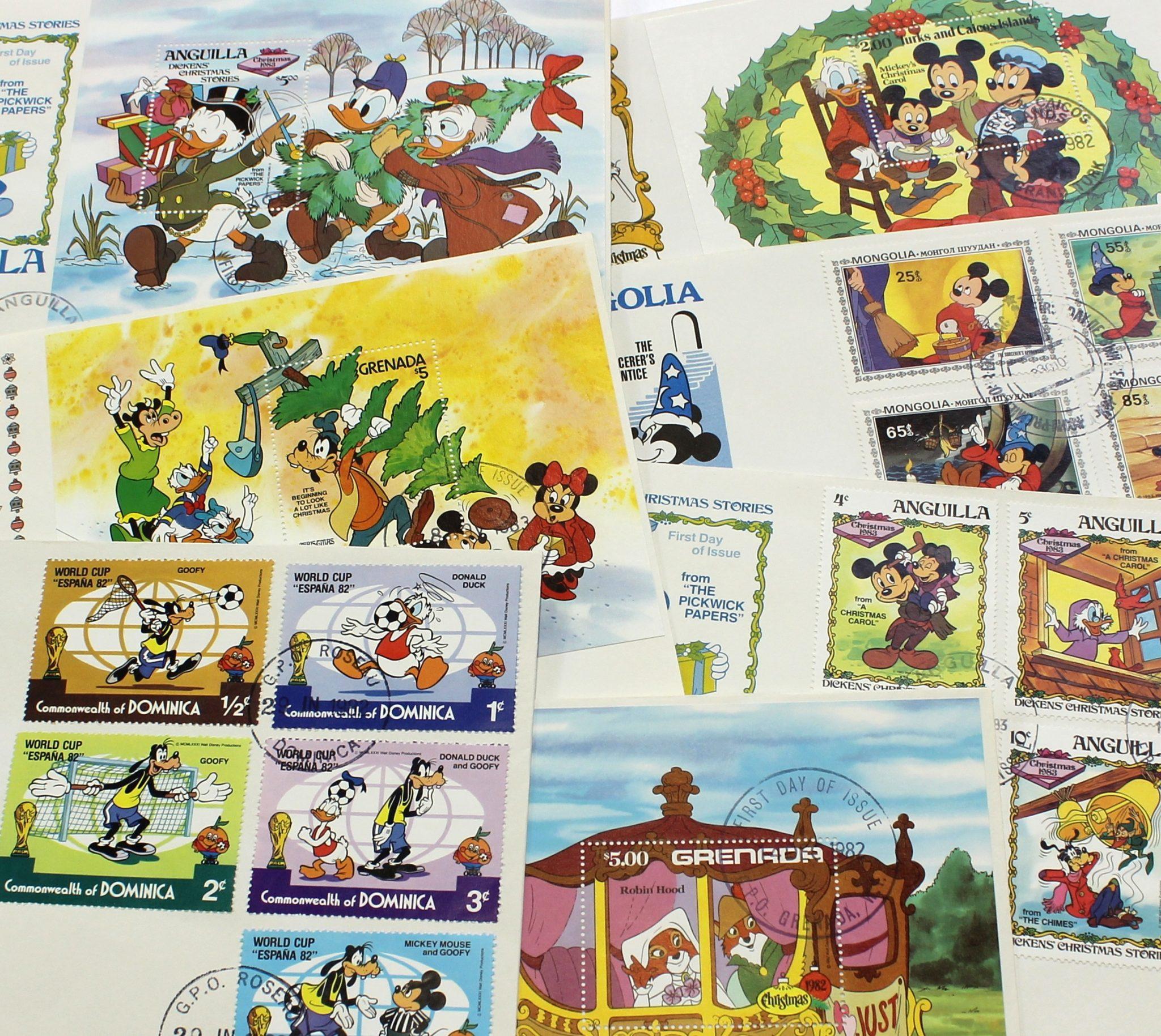 Collezione di buste Walt Disney – val. 1000/1500 euro