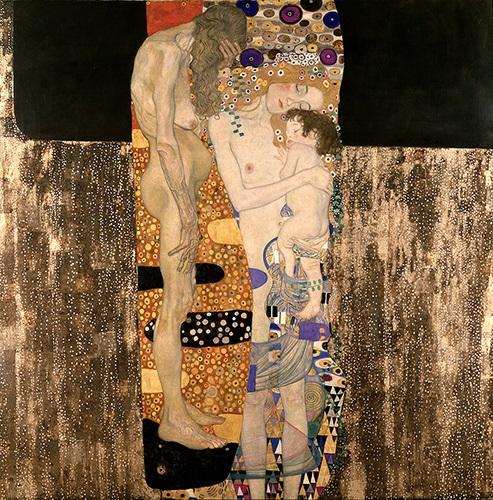 Le tre età della donna di Klimt
