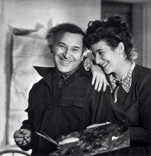 Marc Chagall e Bella Rosenfeld