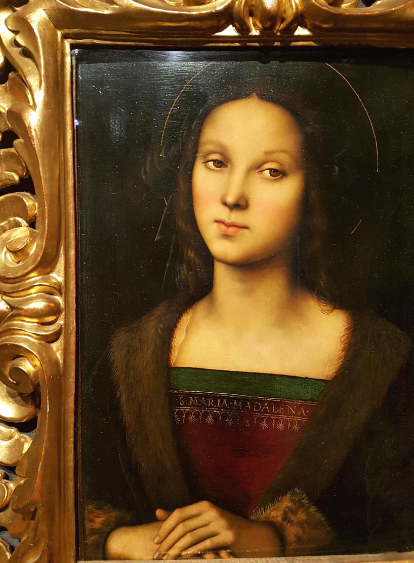 Perugino (mostra Raffaello a Bergamo)