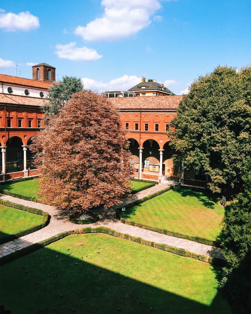 Università Cattolica del Sacro Cuore, chiostro dorico