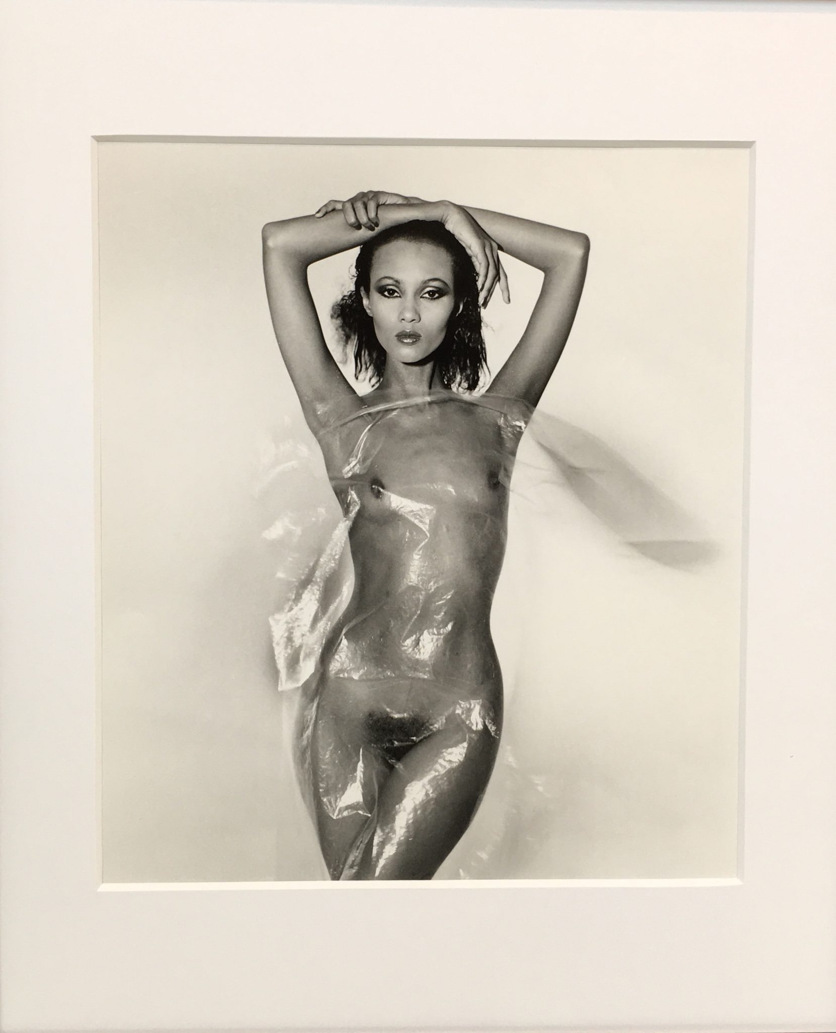29 arts in progress - Gian Paolo Barbieri - Iman, Parigi, 1979