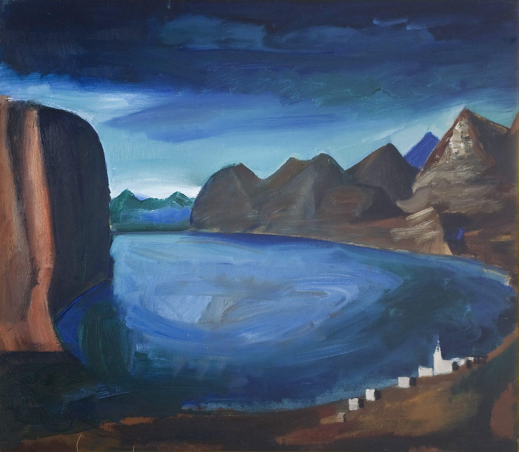 Mario Sironi, Il lago (1926)