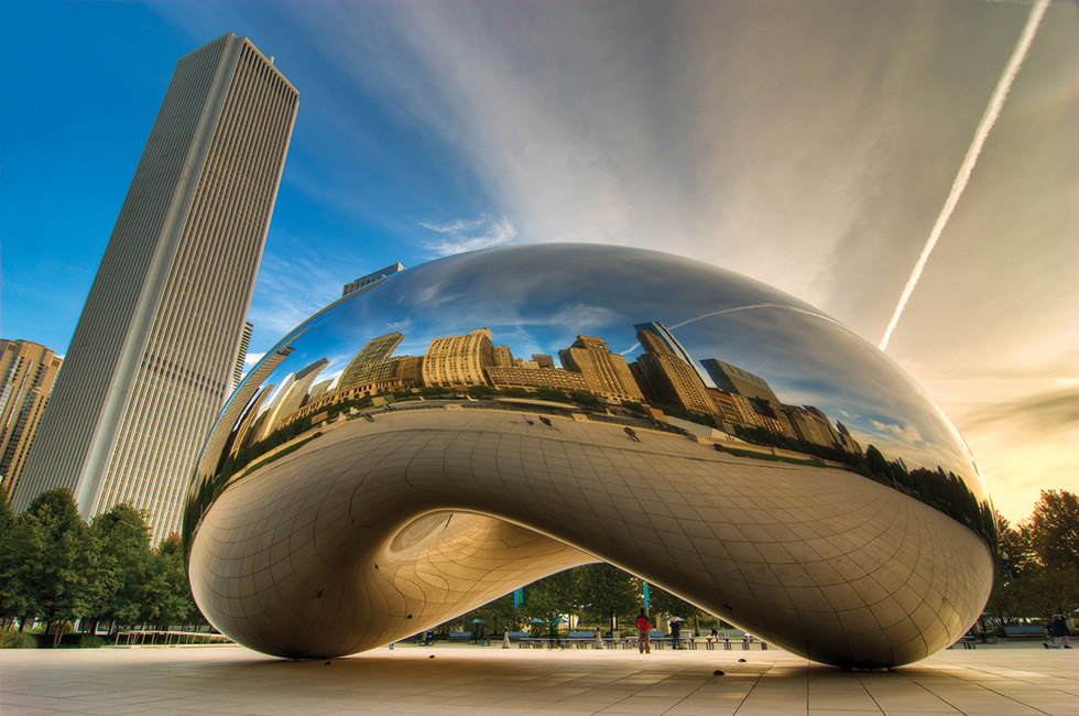 Anish Kapoor, Cloud Gate (2004), Chicago