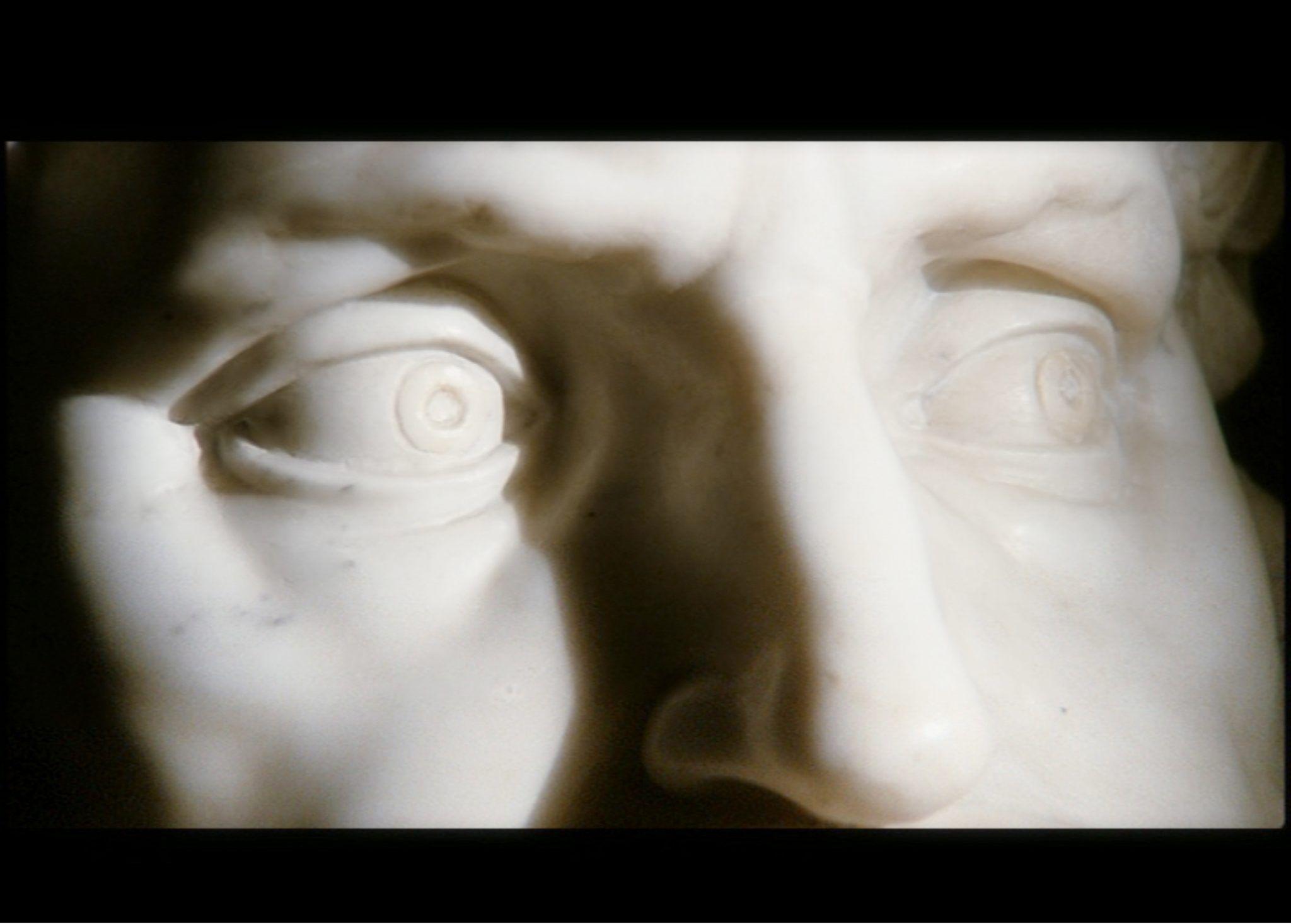 Michelangelo Antonioni, Lo sguardo di Michelangelo, cortometraggio, 15 min., Istituto Luce, 2004, Cripta del Santo Sepolcro, Milano